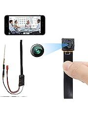 Mini-spion-camera, bewakingscamera voor thuis, 1080p HD, WLAN, nachtzicht en bewegingsdetectie, videorecorder, perfect voor binnen en buiten