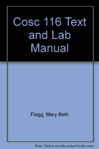 COSC 116 Text and Lab Manual