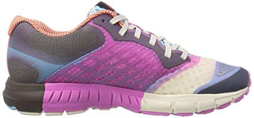 Reebok ONE Guide 2.0 - Zapatillas Mujer Multicolor (mnwht/pprwht/ultraerry/stn/blue pool/coral-pr)
