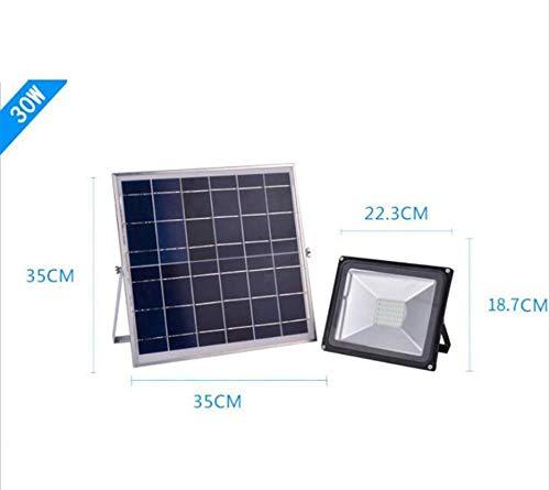 Q-fo Foco Proyector Solar Exteriores, Luces De Pared Solares ...