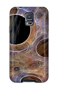 High-quality Durability Case For Galaxy S5(web Circles)