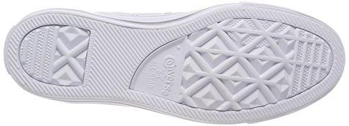Baskets CTAS Ox Mixte Pure White Silver Silber 082 Argenté Adulte Converse Platinum ERUqnxAU
