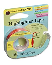 Removable Highlighter Tape Orange
