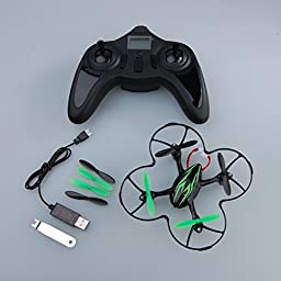 Hubsan X4 (H107C) 4 Channel 2.4GHz RC Quad Copter with Camera - Green/Black