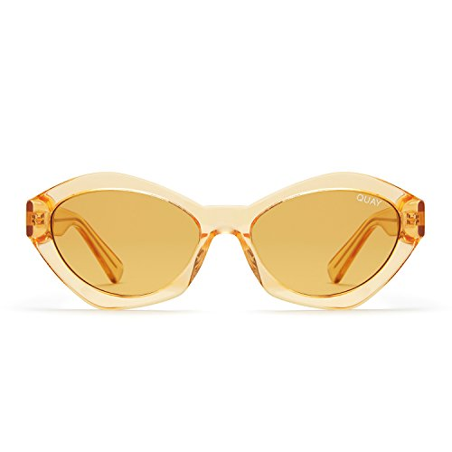 Quay Australia AS IF Women's Sunglasses 90's Fashion Cat Eye Sunnies - - Brand Australian Sunglasses