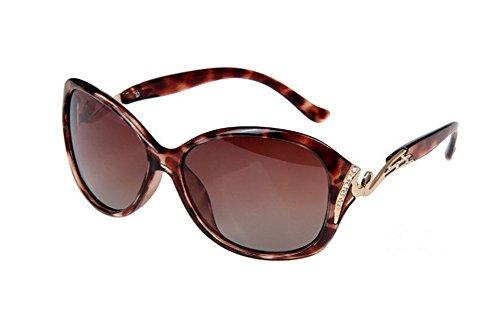 de Sol la Ruikey Gran 6 Sol al Gafas Señora Sol de de Aire Con Libre la Estilo de Manera de Gafas de Polarizadas Gafas Marco Bppq4IT