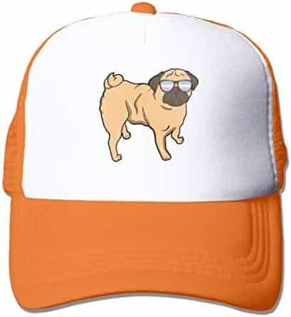 168153aaba1e5 Unisex Trans Pride Pug Transgender LGBT Two Tone Trucker Hat Mesh Ball Cap  - The Great