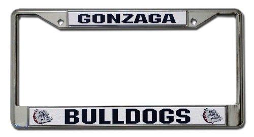 Rico Industries NCAA Gonzaga Bulldogs Standard Chrome License Plate Frame ()