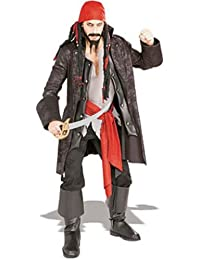 Pirates of the Seven Seas Captain Cutthroat - Adult Standard
