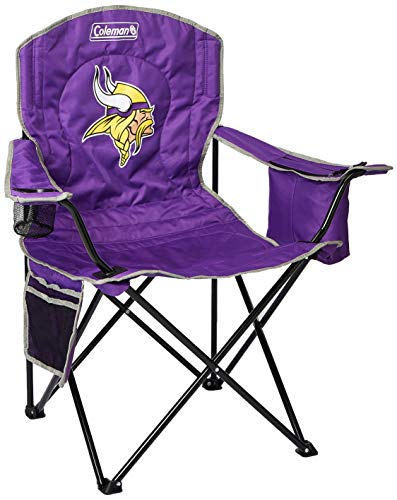 Vikings Minnesota Gear (NFL Portable Folding Chair with Cooler and Carrying Case)