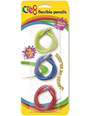 Ideal For School Pack of 3 Flexible Pencils Great Stocking Filler Idea for Boys and Girls  1 Pack Supplied