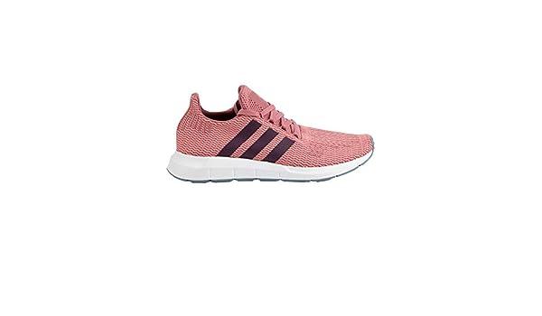 adidas swift run women's maroon