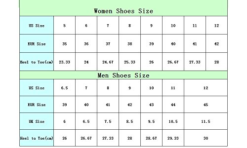U Colorful Shoes Lightweight DESIGNS FOR Running Walking Leaves Vintage amp; 5 Women's Mesh Men's BdYvP