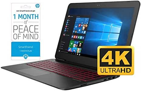HP OMEN 17 17.3'' UHD 4K Gaming and Business Laptop (Intel i7, 1TB HDD +512GB SSD, 17.3 inch UHD 3840 x 2160, 32GB RAM, GeForce GTX 965M, Win 10) With Smarfriend (1-month)