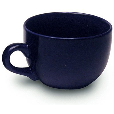 Jumbo Coffee Cup - Jumbo Extra Large Ceramic Coffee & Soup Mug 22 ounce, Cobalt Blue (Pack of 2)