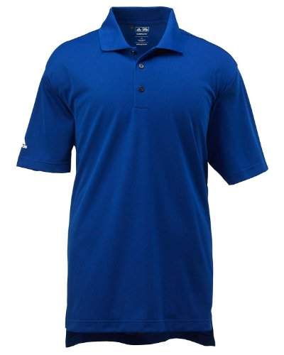 Adidas Climalite Polo Shirt (adidas Golf Men's ClimaLite Basic Short-Sleeve Polo L COLLEGIATE ROYAL)