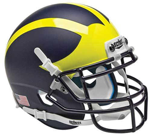 - Schutt NCAA Michigan Wolverines Mini Authentic XP Football Helmet, Alt. 1