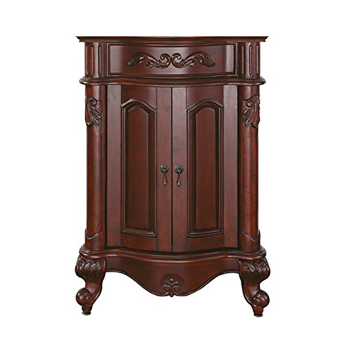 Avanity Provence 24 in. Vanity Only in Antique Cherry finish