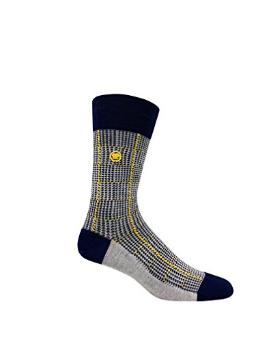 Love Sock Company 5 pairs of Men's organic cotton dress socks in a luxurious sock gift box. Fun, bold and solid socks for men, made in Europe, super soft, great gift idea. Italiano Box Set for Men by Love Sock Company (Image #3)