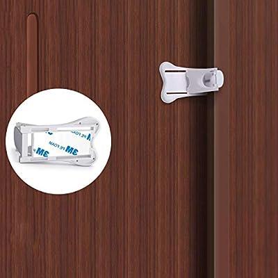 CN-Culture Cerraduras para puerta corredera para seguridad de bebé ...