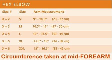 Breg HEX Adjustable Hinged Elbow Brace (XXLarge)