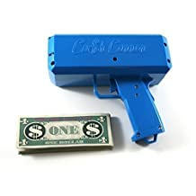 The Cash Cannon Make it Rain Every Man's Dream Toy. Baby Blue.