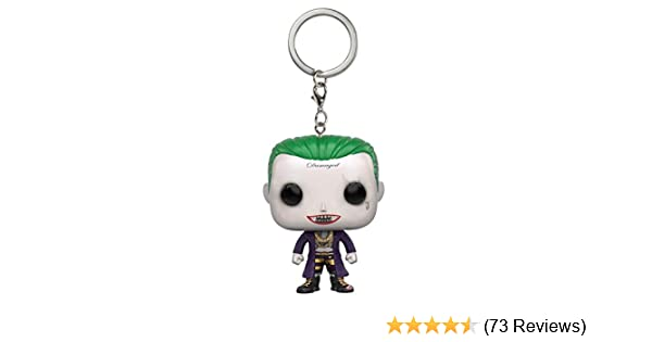 Funko POP Keychain: Suicide Squad - Joker Action Figure