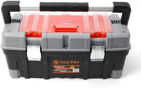 4/pi/èces Noir//orange Tactix 320608/Plateau en plastique Bin Set