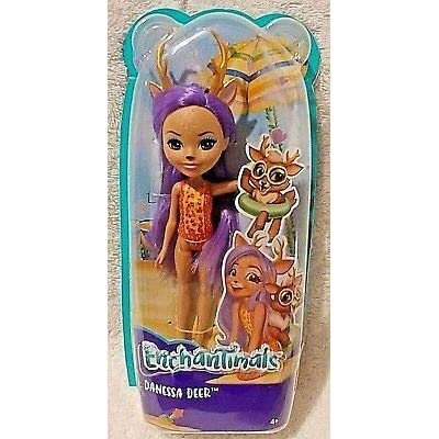 Enchantimals DANESSA Deer at The Beach: Toys & Games [5Bkhe1404834]