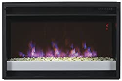 """ClassicFlame 26EF031GPG-201 26"""" Contemporary Electric Fireplace Insert with Safer Plug by Twin Star International, Inc."""