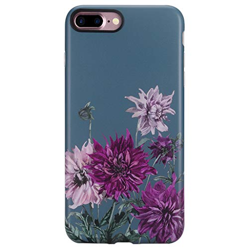 GOLINK Case for iPhone 7 Plus/iPhone 8 Plus, Matte Floral Series Slim-Fit Ultra-Thin Anti-Scratch Shock Proof Dust Proof Anti-Finger Print TPU Gel Case for iPhone 7/8 Plus - -