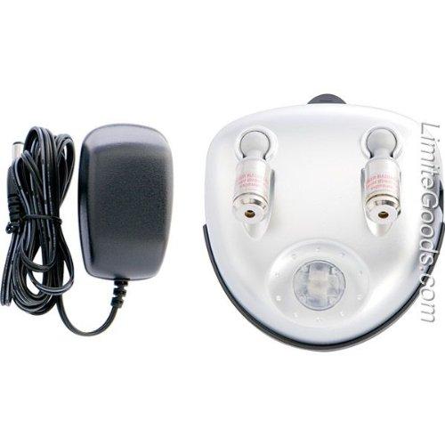 Maxsa 37312 Silver Right Dual Garage Laser Park ()