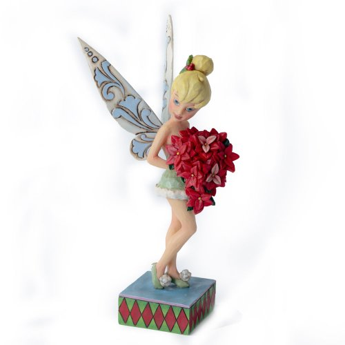 Enesco Jim Shore Disney Traditions Tinker Bell Figurine, 7.25-Inch