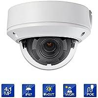 Outdoor 4.1 Megapixel POE Dome IP Security Camera - IP67 Weatherproof, Motorized lens 2.8~12mm lens HIKVSION OEM DS-2CD1741FWD-IZ