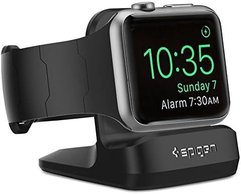 Spigen S350 Designed for Apple Watch Stand with Night Stand Mode for Series 4 / Series 3 / Series 2 / Series 1 / 44mm / 42mm / 40mm / 38mm, Patent Pending - Black - 10146092 , B0109I9W24 , 285_B0109I9W24 , 422928 , Spigen-S350-Designed-for-Apple-Watch-Stand-with-Night-Stand-Mode-for-Series-4--Series-3--Series-2--Series-1--44mm--42mm--40mm--38mm-Patent-Pending-Black-285_B0109I9W24 , fado.vn , Spigen S350 Designed