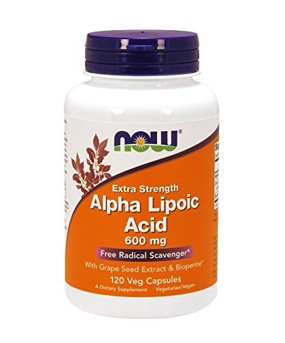 NOW Alpha Lipoic Acid 600 mg,120 Veg (Alpha Lipoic Acid)