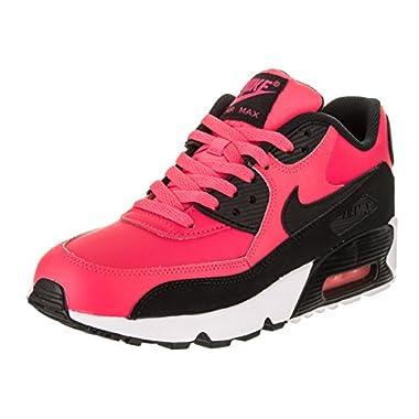 Nike Air Max 90 LTR Big Kid s Shoes Racer Pink Black White 833376- 197204f4b