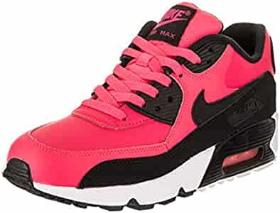 6315008e31 Amazon.com | NIKE Air Max 90 LTR Big Kid's Shoes Racer Pink/Black/White  833376-600 (6 M US) | Running