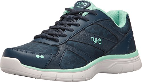 Ryka Women's Dream Training Shoe,Insignia Blue/Yucca Mint,US 7 M by Ryka