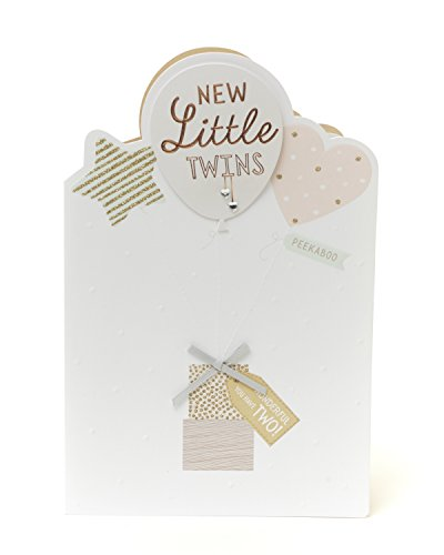 Congratulations Birth of Twins Card - New Little Twins