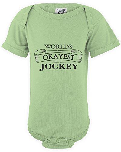 shirtloco Baby Worlds Okayest Jockey Onesie Bodysuit, Key