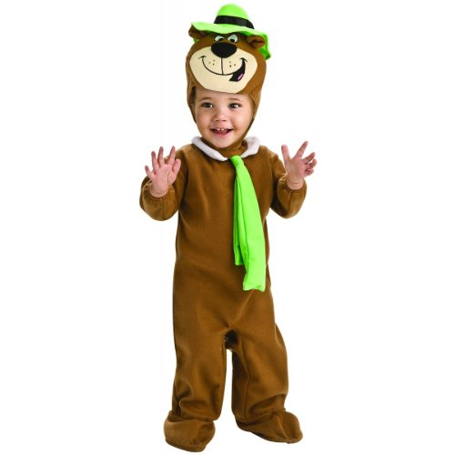 [Yogi Bear Costume - Toddler] (Yogi Bear Halloween Costume)
