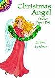 Christmas Angel Sticker Paper Doll (Dover Little Activity Books Paper Dolls)