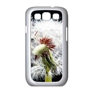 Samsung Galaxy S3 Cases Flower 120 for Men, Samsung Galaxy S3 Case Man for Men [White]