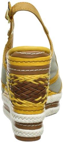 mujer Golden lona Foam Hilfiger Beige Zapatos Tommy Glow 905 ESTELLE Beige Tidal destalonados 8 de AZ70q