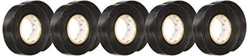 (3M Temflex 1700 General Use Vinyl Electrical Tape, 0 to 80 Degree C, 36 yds Length x 3/4