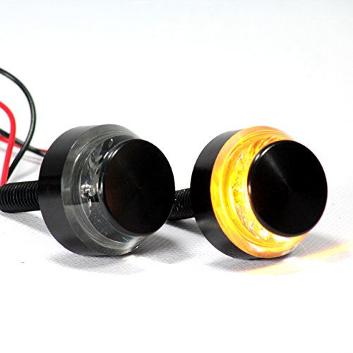 Eagle Lights Bar End Disc LED Turn Signals for 7/8