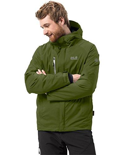 Jack Wolfskin Men's Troposphere Waterproof Hybrid Down-Fiber Insulated Jacket
