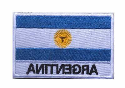 Backwoods Barnaby Argentina Flag Tactical Patch with Hook & Loop (Argentina, 2