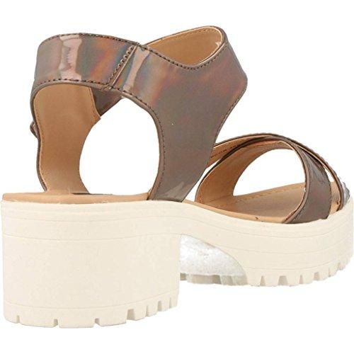 Sandalias y chanclas para mujer, color marr�n , marca MTNG, modelo Sandalias Y Chanclas Para Mujer MTNG JULIA TROPICAL B3 Marr�n Taupe